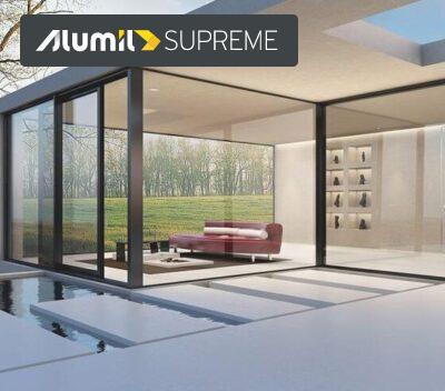 SUPREME S700 ανυψούμενο συρόμενο θερμομονωτικό σύστημα αλουμινίου alumil aluminal, SUPREME S700