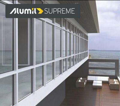 supreme s77 phos Ανοιγόμενο θερμομονωτικό σύστημα alumil aluminal, SUPREME S77 PHOS