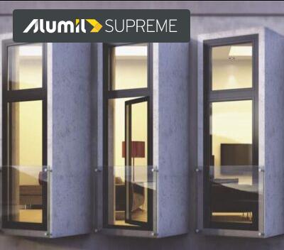 supreme s91 Ανοιγόμενο θερμομονωτικό σύστημα alumil aluminal κουφώματα, SUPREME S91