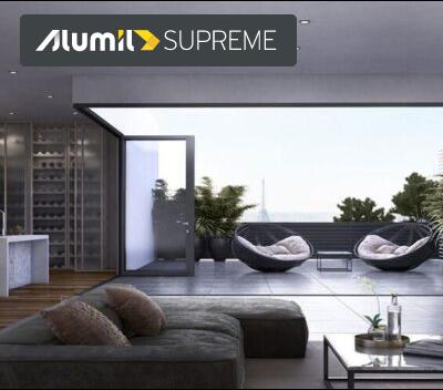 SUPREME SF85 Θερμομονωτική Φυσούνα ALUMIL ALUMINAL συστήματα αλουμινίου, SUPREME SF85